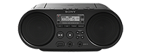 SONY RADIO PORTATIL ZS-PS50 CD-R/RW/MP3/WMA/FM-AM/USB